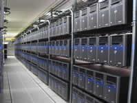 Foto real del datacenter de clase mundial donde aloja hostingfull.cl